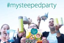 Sip. Snap. Share - #mysteepedparty Contest! / Share your Steeped Tea Party using #mysteepedparty for your chance to win weekly prizes! / by Steeped Tea Inc