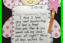 Classroom Handwriting Ideas