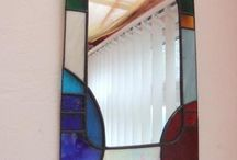 Mirrors in stained glass