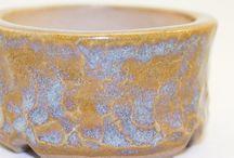 Kusamono Pottery / Kusamono accent plant pottery for bonsai trees