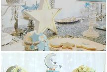 Baby shower party's decoration tables
