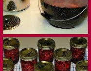 Recipes - canning or freezing or drying