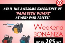 weekend offers / Weekend offers include the special offers for the water pumps