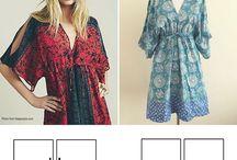 Sewing patterns - Szabásminták / Szabásminták