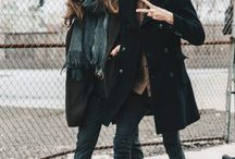 Winter couple shoot outfits