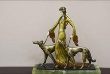 Demetre Chiparus / Art deco sculptor