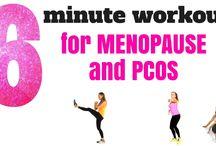 menopausen øvelser