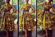 I must..african print