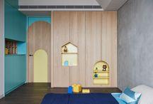 Interior: children bedroom