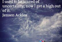 JENSEN ACKLES !!!