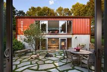 SHIPping CONtainER  HomeS / Creative architecture / by Kimberly Carmichael