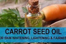 Carrot seed oil recipe for skin lightening