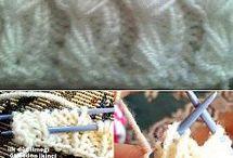 pletení vzorečky