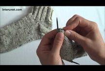 video pletení ponožky