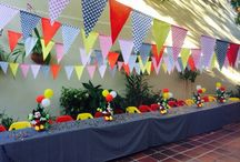 Abraham party / Mickey Mouse birthday party ideas