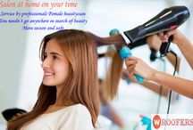 beauty parlour in gwalior / discription- Wroofers provides best salon offer in Gwalior for branded salon.