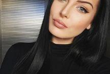 maquiagens e cabelos