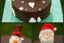 navidad tarta