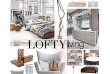 Interior design - Loft