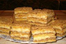 Orechové  rezy s vanilk.náplňou