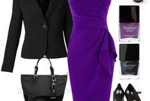 I love dresses - purple