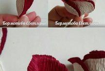 Flori din hârtie