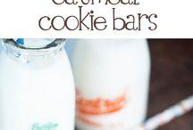 Desserts/barres tendres