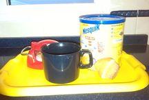 Mi Desayuno Cubista / en este tablero se reflejan los pasos para elaborar un desayuno cubista.