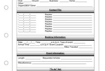 Direct Sales/ Party Plan Free Planner pages