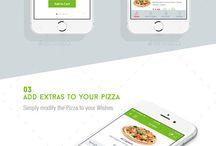 Подборка интерфейсов для FoodDelivery