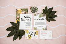 wedding invites + design