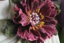 Kwiaty filcowe