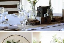 A simple, rustic and neutral wedding