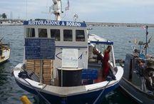 Vlog / Restaurante a bordo de barco pesqueiro