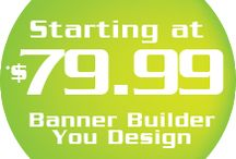 Team Banners / Do you want to customize your sport banners or team banners? Why wasting time and money to have someone else design for you.  At Team Sport Banners you can easily create your own design.  We can help you get a customized banner for all your sport needs: baseball banners, softball banners, soccer banners.  All you need to do are go online use our online banner builder tool which give you access to a huge collection of clip arts, fonts, backgrounds, team logos…