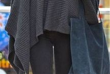 poncho en sjaal