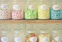 Bonbons et tisanes
