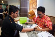 """Event: CSR """"Jadilah pahlawan bagi seseorang, donorkan darah Anda"""""""