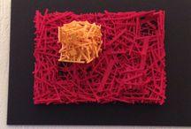 Art abstrait / Tableaux structures