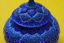 perzsa keramika