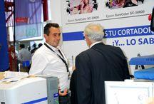 Feria C!Print Madrid - 7,8,9 de octubre de 2014 / Galeria fotografica de nuestro stand y personal