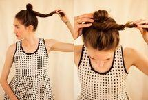 My hair.