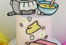 그림판 케이크