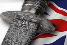 Commando Knives / Authentic first pattern Fairbairn-Sykes Commando knives, proudly made by our Sheffield craftsmen and bears the name and trademark of Joseph Rodgers.