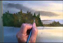 tutoriale watercolor