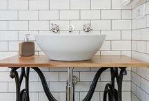 antique sink makeover