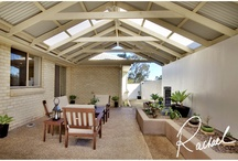 Gable outdoor area / Gable roof for outdoor area