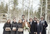 WINTER BRIDESMAID INSPIRATION / Winter Wedding Bridesmaid Inspiration