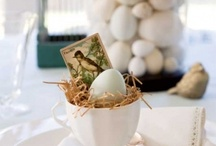 Easter decor & table setting