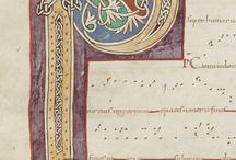 Mittelalter Schrift